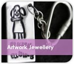 Childrens Artwork Jewellery